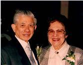 Rev. C.J. Totaijs en zijn vrouw